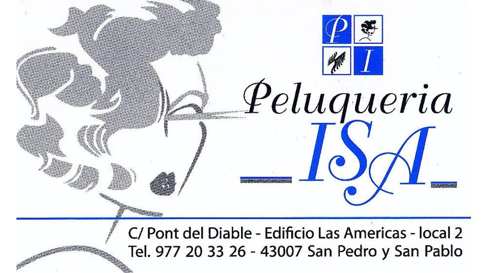 Logo Peluquería Isa